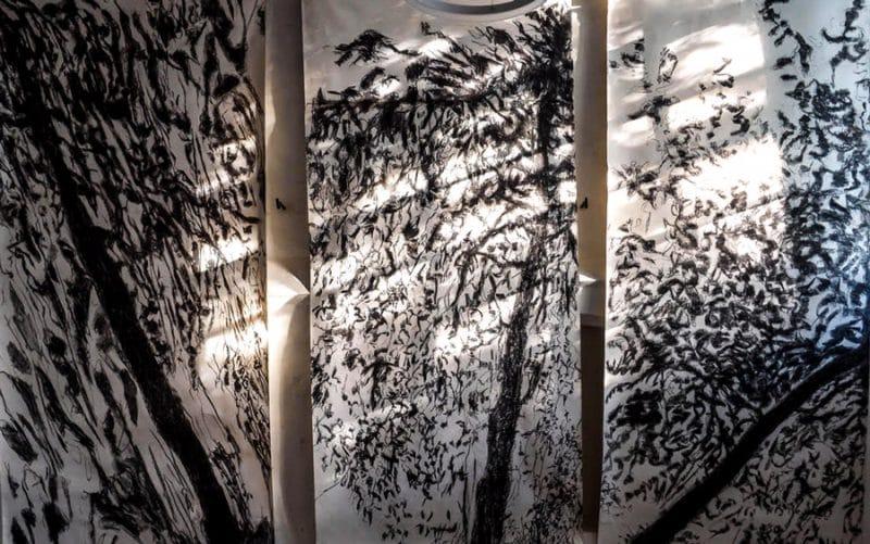 Beeld van werk '3 x Perenboom' van Carien Engelhard