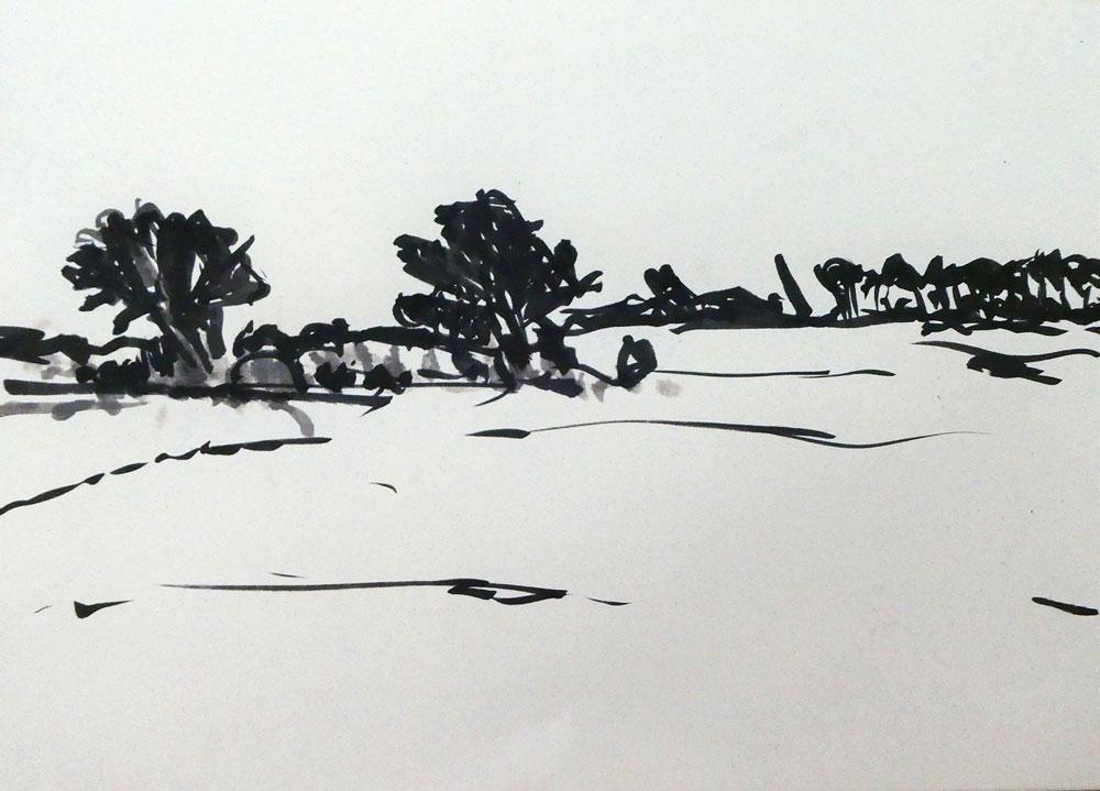 Serie-IJssellandschap.-Inkt-op-papier.-21-x-30-cm.-winter-2020